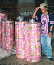 Mattress making, Indonesia